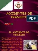 Clasificacion de Los Accidentes de Transito