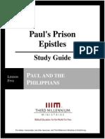 Paul's Prison Epistles - Lesson 5 - Study Guide