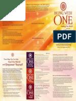 ONE Brochure English