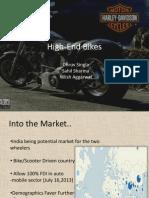 High End Bikes