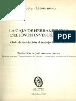 Letourneau Jocelyn_Cómo Delimita Un Tema de Investigación