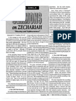 1992 Issue 10 - Sermons on Zechariah