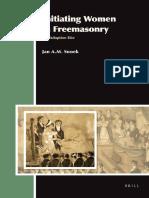 (Aries Book Series 13) Jan a. M. Snoek-Initiating Women in Freemasonry-Brill Academic Pub (2012)