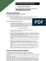 Guia 1 teleinformatica 2008 Tx de Datos