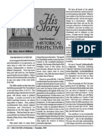 1992 Issue 11 - His Story - God's Providence, The Importance of History - Counsel of Chalcedon