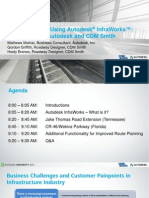 Presentation_1484_CI1484_Route Planning Using Autodesk InfraWorks_A How to Class by Autodesk and CDM Smith