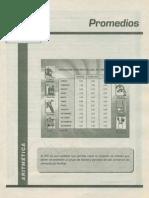 ARITMETICA - 15 PROMEDIOS