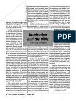 1993 Issue 1 - Inspiration and the Bible - Counsel of Chalcedon