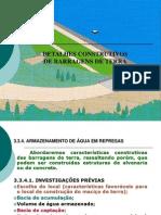 Detalhes Construtivos de Barragens de Terra