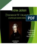 Unidad 4 Andrew Jackson - Laura Múnera Pavón