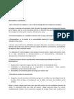 Bioenergética - Cuestionario