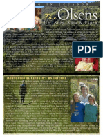 Olsen Newsletter July/August 2014