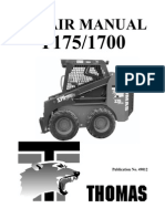 Thomas Skid Steer 175 Repair Manual