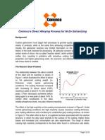 Tech Report- Direct Alloying Process