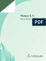 Abaqus 6.11 Keywords Reference Manual