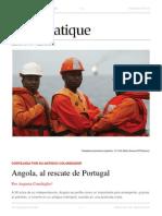 2012 - Angola, Al Rescate de Portugal