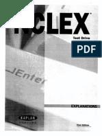 NCLEX Practice Test Explanations