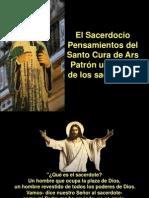 El Sacerdocio-Santo Cura de Ars. 4 Agosto.pps