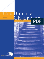 Burra Charter 1999