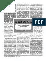 1993 Issue 5 - He Shall Glorify Me