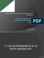 Diseño, Dimensionamiento y Construcción de Sistemas de Biodigestion Primera Parte 21 04 2013