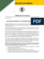 Hacienda Defiende La Integridad Del Ivu Loto