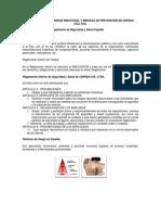 Inducción de Seguridad Industrial y Medidas de Prevención en Cepeda