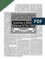1993 Issue 6 - Apologetics