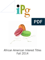IPG Fall 2014 African American Interest Titles