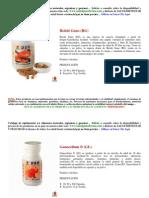 Catálogo de Suplementos