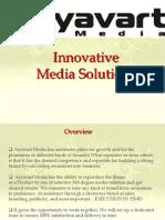 Corporate Presentation Aryavart Media Profile