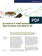 In Need of a Retail Turnaround - How to Know and What to Do