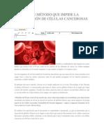 Descubren Método Que Impide La Diseminación de Células Cancerosas