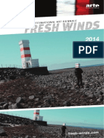 Catalogue for Fresh Winds 2013-2014