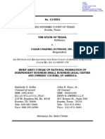 Brief Amici Curiae of NFIB Small Business Legal Center and Owners' Counsel of America, Texas v. Clear Channel Outdoor, Inc., No. 13-0053 (Tex. July 24, 2014)