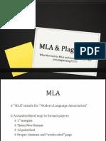 mla-plagiarism powerpoint