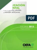 Fiscalizacion Ambiental en Mineria