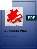 Business Plan (SBM Project)