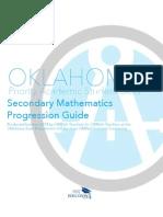 Secondary Math Progression Guide
