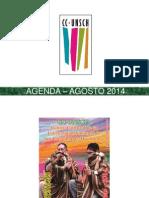 - Agenda – Agosto 2014