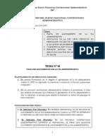 Conclusiones Del Pleno Nacional Contencioso Administrativo - 2007