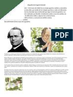 Biografía de Gregorio Mendel