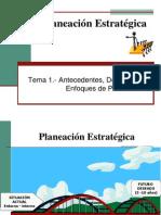 Tema 1 2 1 3 y 1 4 Enfoques Definicic3b3n y Principios de Planeacic3b3n Estratc3a9gica1