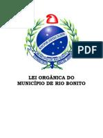 LEI ORGÂNICA Mucicipio Rio Bonito