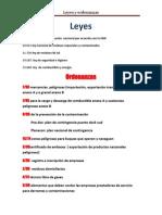 Leyes y Ordenanzas
