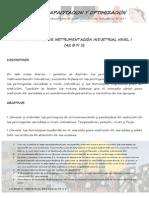Fundamentos de Instrumentacion Nivel 1
