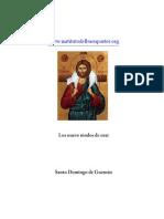 Los Nueve Modos de Orar de Santo Domingo de Guzmán