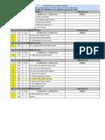 Horarios 1 Parciales 1-2014 Derecho