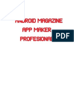 Tutorial Android Magazine App Maker Profesional