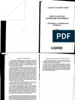 SALOMÃO FILHO, Calixto. Regulação Da Atividade Econômica - p. 64-104